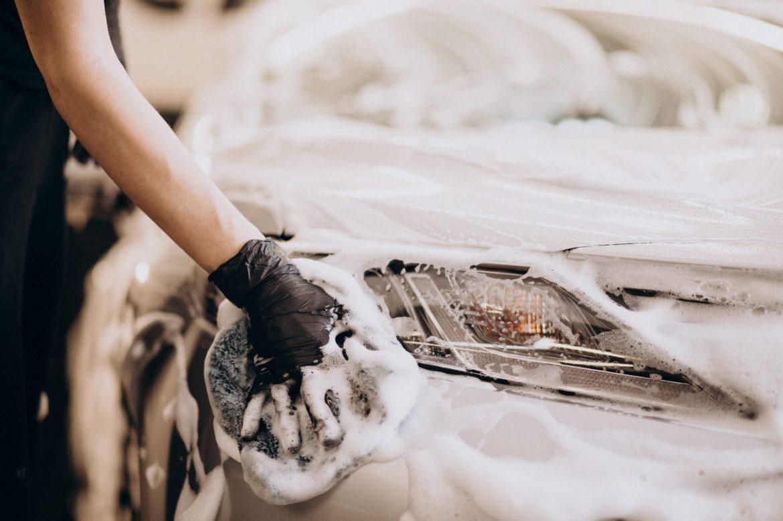 Limpieza de coche